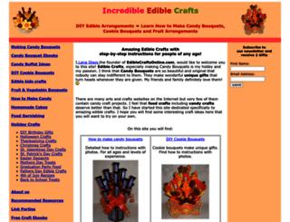 ediblecraftsonline.com screenshot