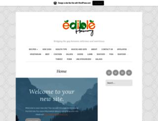 edibleharmony.com screenshot