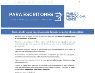 edicionlibroindie.com screenshot