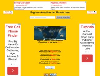 edicionweb.paginasamrillas.es screenshot