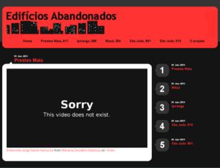edificiosabandonados.com.br screenshot
