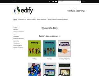 edify.co.nz screenshot