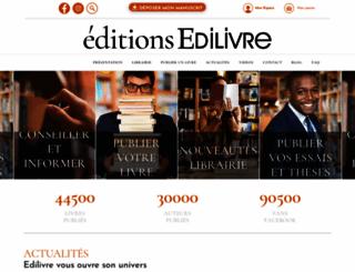 edilivre.com screenshot
