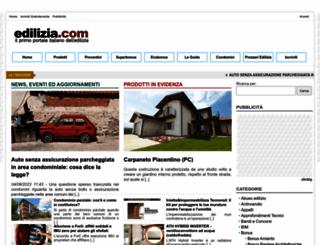 edilizia.com screenshot
