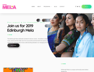 edinburgh-mela.co.uk screenshot