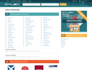 edinburgh.cylex-uk.co.uk screenshot