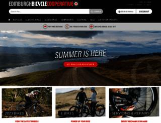edinburghbicycle.com screenshot
