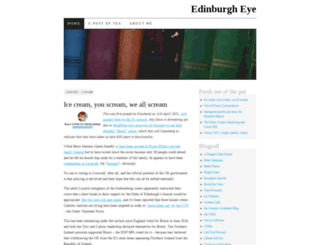 edinburgheye.wordpress.com screenshot