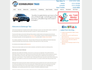 edinburghtaxi.co.uk screenshot
