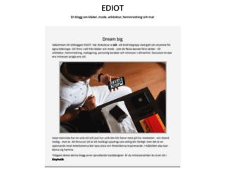 ediot.se screenshot