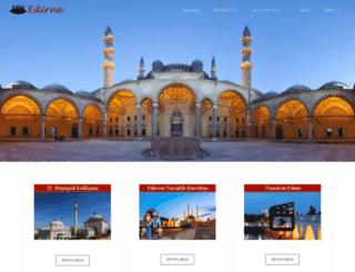 edirne.com.tr screenshot
