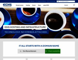 edis.net screenshot