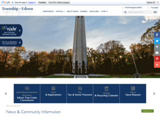 edisonnj.org screenshot