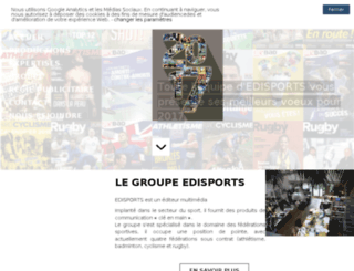 edisports.glyph.fr screenshot