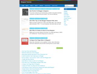 edit-html.blogspot.com screenshot