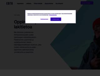 edita.fi screenshot