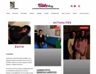 edith-magazine.com screenshot