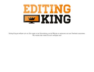 editing-king.de screenshot