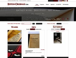 edition-originale.com screenshot