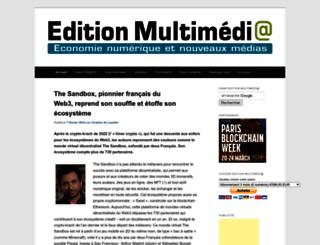 editionmultimedia.fr screenshot