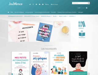 editions-jouvence.com screenshot