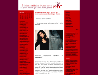 editionseho.typepad.fr screenshot