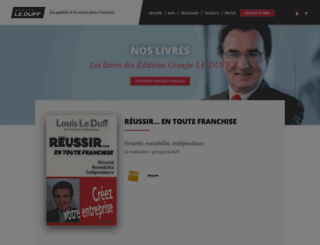 editionsgroupeleduff.fr screenshot