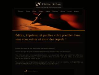 editionsmelonic.com screenshot