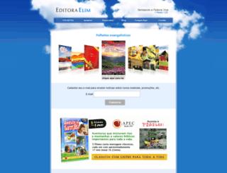 editoraelim.com.br screenshot