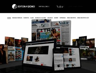 editoraglobo.com.br screenshot