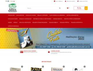 editorasinodal.com.br screenshot