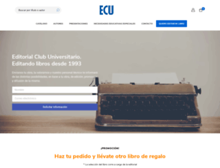 editorial-club-universitario.es screenshot