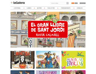 editorial-lagalera.com screenshot