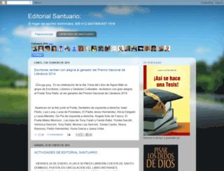 editorialsantuario.blogspot.com screenshot