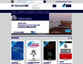 editorialuoc.cat screenshot