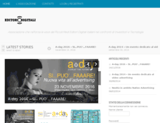 editoridigitali.org screenshot