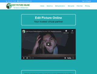 editpictureonline.com screenshot
