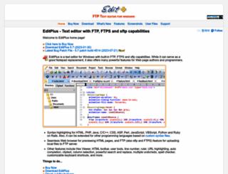 editplus.com screenshot