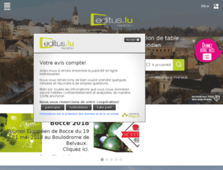 editus.luxweb.com screenshot