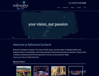 editworks.co.uk screenshot