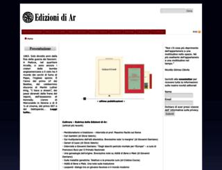 edizionidiar.it screenshot