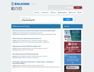 edjoin.com screenshot