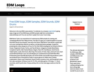 edmloops.com screenshot