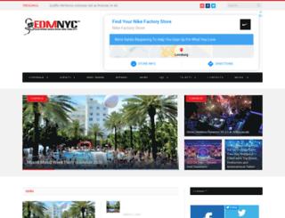 edmnyc.com screenshot