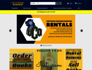 edmond.textbookbrokers.com screenshot