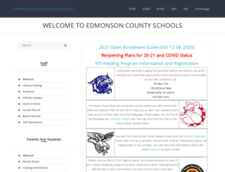 edmonson.k12.ky.us screenshot