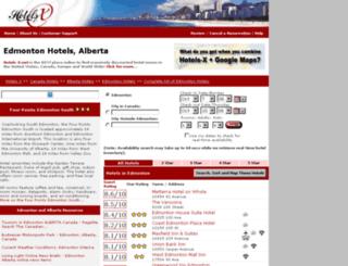 edmonton-ab-ca.hotels-x.net screenshot