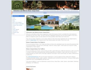 edmonton-home-inspectors.com screenshot
