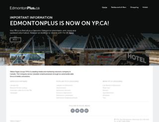 edmontonplus.ca screenshot