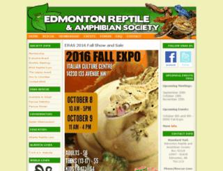 edmontonreptiles.com screenshot